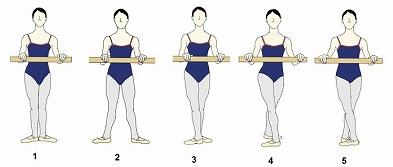 足のポジションが変わると、重心だけでなく、足首の角度も変わる。5番ポジションの時と1番ポジションの時が一緒なわけないのは、イラストを見たら分かるよね。そしてだから5番ポジション難しいんだよね。